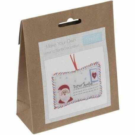 Trimits Felt Christmas Decoration Kit - Letter To Santa