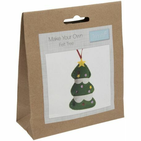 Trimits Felt Christmas Decoration Kit - Tree