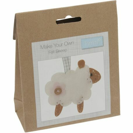 Trimits Felt Decoration Kit - Sheep