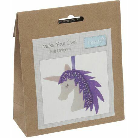 Trimits Felt Decoration Kit - Unicorn