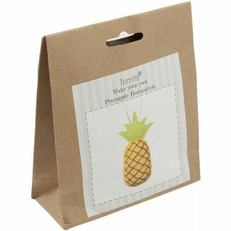 Trimits Felt Kit - Pineapple