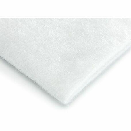 Hallis Synthetic Curtain Interlining (Bump): 220gsm: White (Per metre)