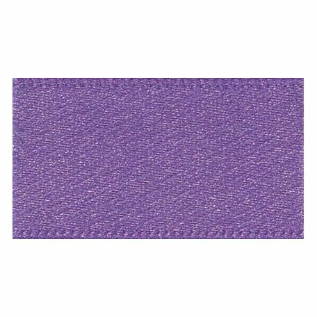 Berisfords: Double Faced Satin Ribbon: 15mm: Purple