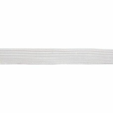 Braided Elastic (3mm) - White