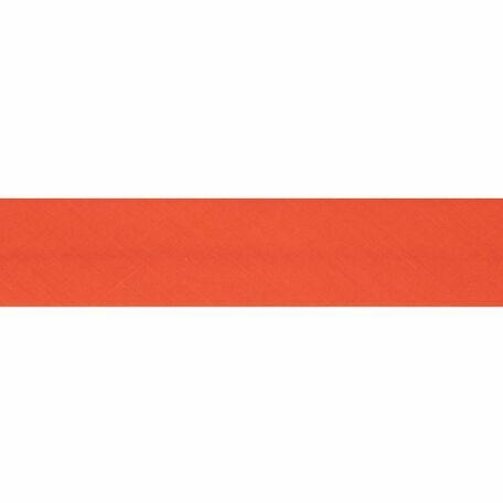 Essential Trimmings Polycotton Bias Binding - 13mm (Orange) - Per Metre