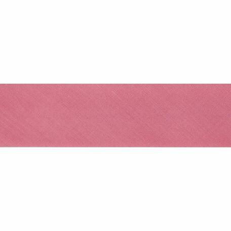 Essential Trimmings Polycotton Bias Binding - 25mm (Peach) - Per Metre