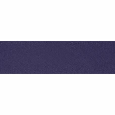 Essential Trimmings Polycotton Bias Binding - 25mm (Purple) - Per Metre