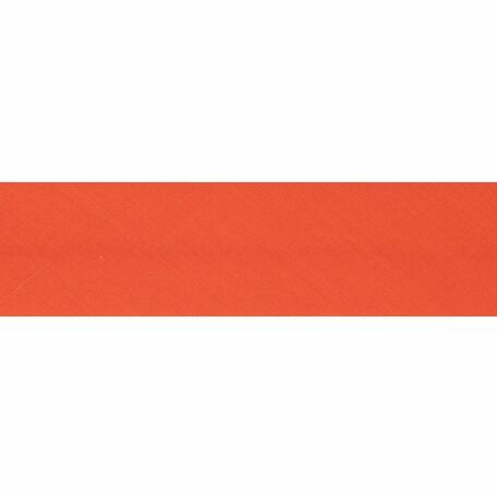 Essential Trimmings Polycotton Bias Binding - 25mm (Orange) - Per Metre