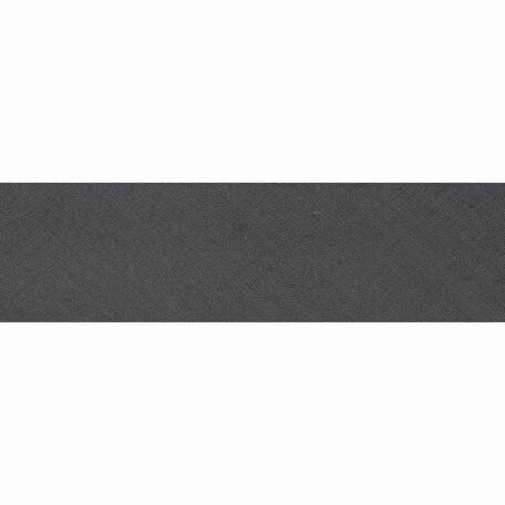 Essential Trimmings Polycotton Bias Binding - 25mm (Silver Grey) - Per Metre