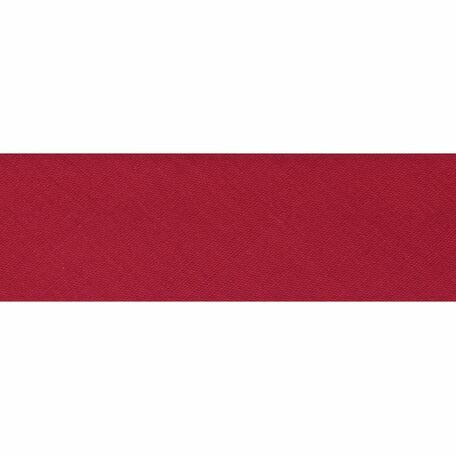 Essential Trimmings Polycotton Bias Binding - 50mm (Scarlet) - Per Metre