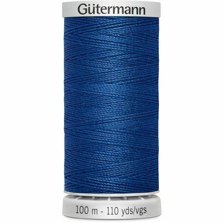 Gutermann Blue Extra Strong Upholstery Thread - 100m (214)