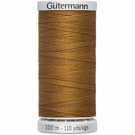 Gutermann Brown Extra Strong Upholstery Thread: Colour 448: 100m