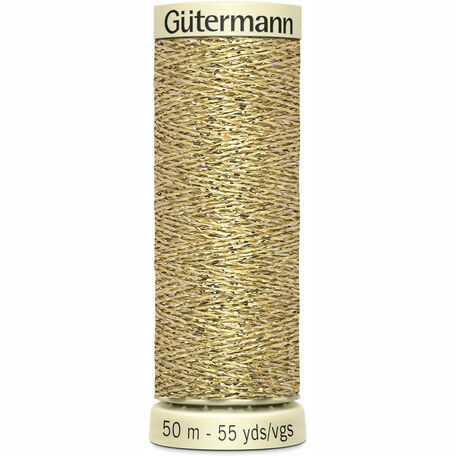 Gutermann Metallic Effect Thread: 50m: Col. 24