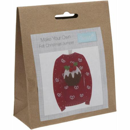 Trimits Felt Christmas Decoration Kit - Christmas Jumper