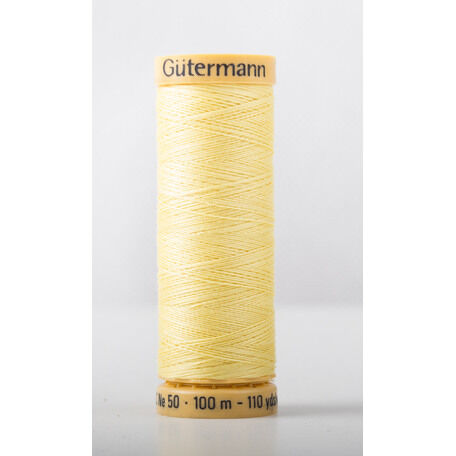Natural Cotton Thread: 100m: Col. 349