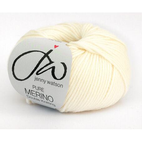 Jenny Watson Pure Merino Yarn - Cream (50g)